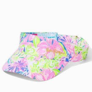 🆕 Lilly Pulitzer It's a Match Visor
